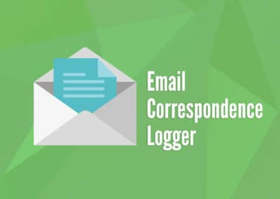Email Correspondence Logger