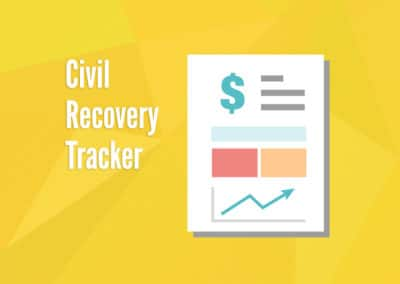 Civil Recovery Tracker