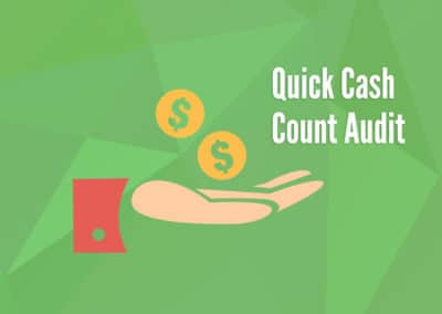 Quick Cash Count Audit