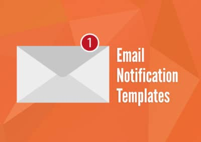 Common Email Notification Templates